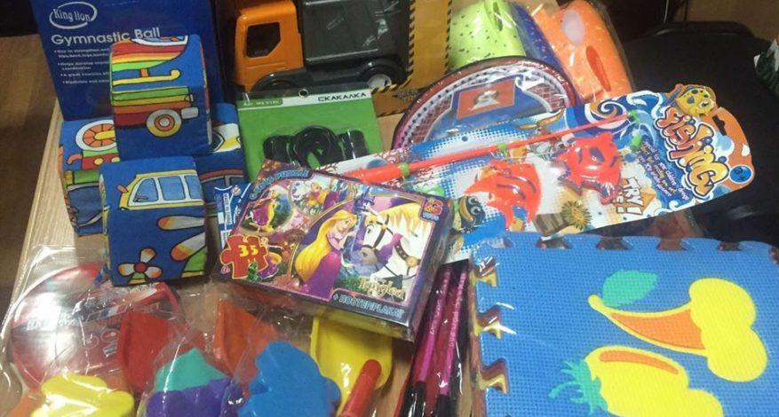 подарунки вихованцям дитячого будинку