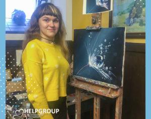 Благодійний майстер-клас з живопису від Ярослава Терновського